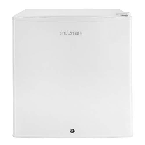 Stillstern Mini-Kühlschrank A++ (45 L), mit Abtauautomatik und Schloss, Leise - Ideal für die Küche, Büro, Schlafzimmer, Hotels und kleine Wohnungen