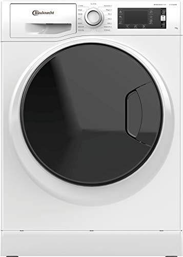 Bauknecht W Active 722 C Waschmaschine Frontlader/ 7 kg/kraftvolle Fleckenentfernung/Dampf Programme/Steam Hygiene Option/Steam Refresh/Active Load Mengenautomatik/Dynamic Inverter-Motor , Weiss