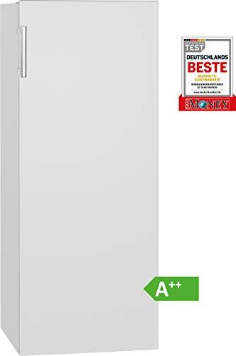 Bomann Vollraumkühlschrank VS 7316 weiß / LED-Beleuchtung / Wechselbarer Türanschlag / Nutzinhalt: 242 Liter