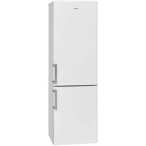 Bomann KG 183 Kühl-Gefrier-Kombination / A+++ / 180 cm Höhe / 131 kWh/Jahr / 176 L Kühlteil / 65 L Gefrierteil / re arer Thermostat / Türanschläge wechselbar