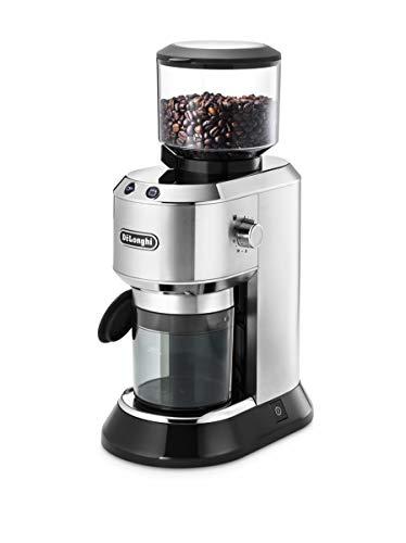 De'Longhi KG 520.M Kaffeemühle, Kunststoff, 350 Grams, Silber