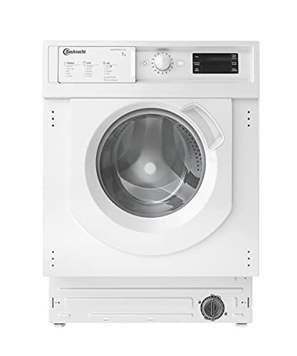 Bauknecht BI WMBG 71483E DE N Einbau-Waschmaschine/ 7kg / Flecken 40°/ Turo-Programm/Energy saver/Woolmark Green/ Kurz30° / Mehrfachwasserschutz+
