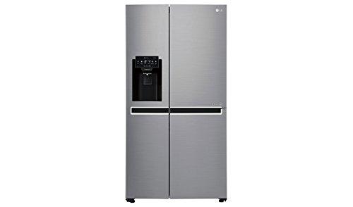 LG Electronics GSL 461 ICEZ Side-by-Side / A++ / 376 kWh/Jahr / 179 cm / 405 L Kühlteil / 196 L Gefrierteil / stahl / Inverter Linear Kompressor / No Frost