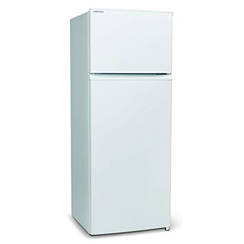 MEDION Kühl-Gefrierkombination (206 Liter, 169L Kühlteil, 37L Gefrierteil, freistehend, Automatische Abtaufunktion, 40 dB, Gemüseschublade, Türanschlag wechselbar, MD 37089) weiß