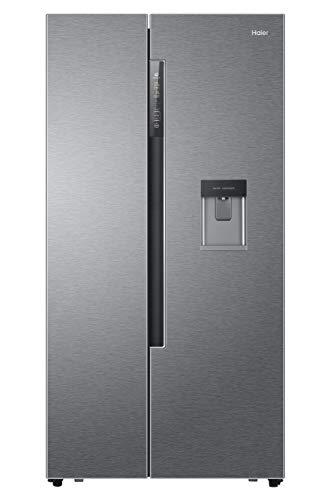 Haier HRF-522IG7 Side-by-Side / A++ / 179 cm / 332 kWh/Jahr / 331 L Kühlteil / 169 L Gefrierteil / Wasserspender / Eiswürfelbereiter / Festwasseranschluss / Total No Frost