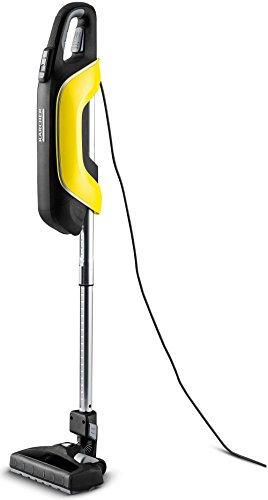 Kärcher Handstaubsauger VC 5 (Beutelloses Filtersystem, handlich und platzsparend, Teleskopsaugrohr, 4-stufige Leistungsregulierung, abnehmbare Bodendüse mit flexiblem Gelenk)