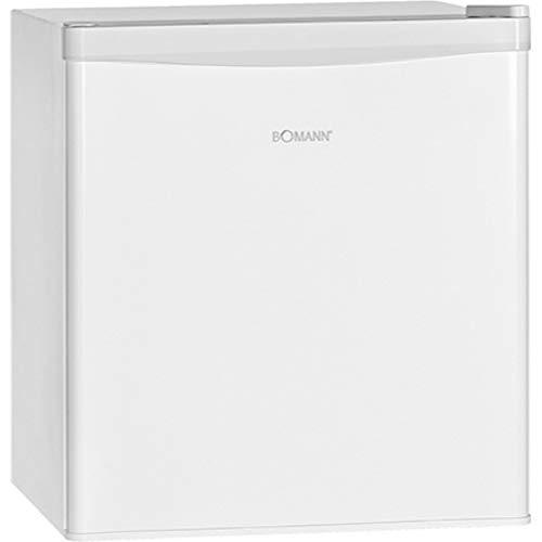 Bomann KB 389.1 Mini-Kühlschrank / 51 cm Höhe / 80 kWh/Jahr / regelbarer Thermostat / Kühlmittel R600a / weiß