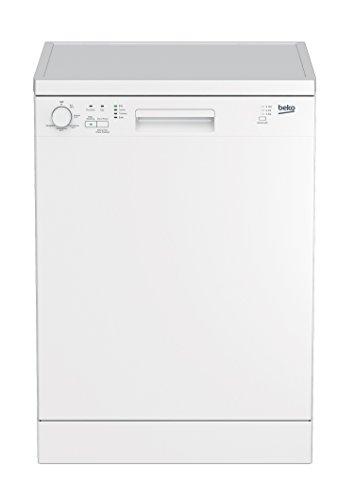 Beko DFN05310W Geschirrspüler Freistehend / A+ / Weiß / Clean&Shine / Höhenverstellbaren Tassenablagen / Halbe Beladung Funktion