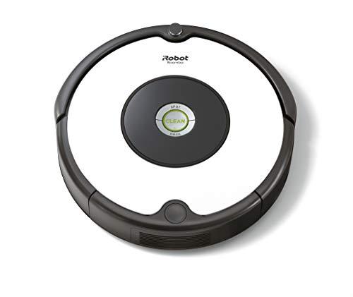 iRobot Roomba 671Saugroboter mit 3-stufigem Reinigungssystem, Dirt Detect Technologie, Staubsauger Roboter, selbstaufladend mit Ladestation, geeignet für Tierhaare, Teppiche und Hartböden, weiß