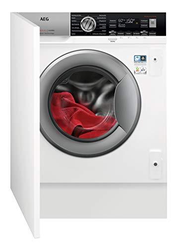 AEG L7WEI7680 Waschtrockner / DualSense - schonende Pflege / 8 kg Waschen / 4 kg Trocknen / Energiesparend / Mengenautomatik / Nachlegefunktion / ProSteam - Auffrischfunktion / Kindersicherung, Weiß