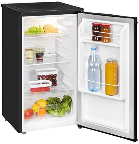 Kühlschrank Kompakt ohne Gefrierfach A+ 45cm Breit 82 Liter Nutzinhalt Schwarz