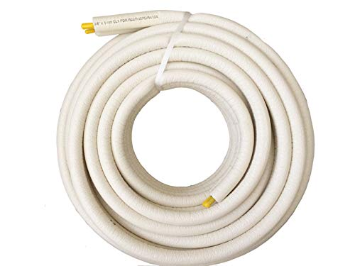 Kältemittelleitung doppel 20m Split Klimaanlagen 1/4-3/8 für R407c und R410a / R32