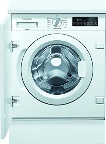 Siemens WI14W442 iQ700 Einbau-Waschmaschine / 8kg / C / 1400 U/min / Outdoor/Imprägnieren-Programm / varioSpeed Funktion / Nachlegefunktion