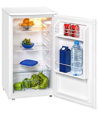 Exquisit Kühlschrank KS 85-9 RVA+PV   Kühlen 82 Liter   Breite 45 cm   Türanschlag wechselbar   Weiß