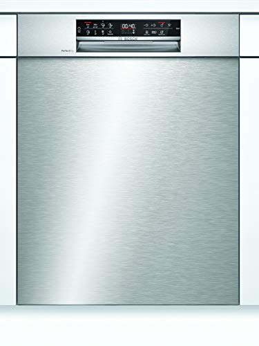Bosch SMU6ZCS49E Serie 6 Unterbau-Geschirrspüler / A+++ / 60 cm / Edelstahl / 237 kWh/Jahr / 14 MGD / SuperSilence / EmotionLight / VarioSchublade / Home Connect