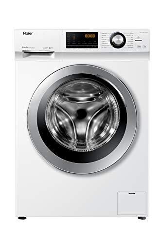 Haier HW70-BP14636N Waschmaschine / 7 kg / 1400 UpM / Inverter Motor / Dampf-Funktion / Vollwasserschutz / ABT / Eco 40-60 Programm