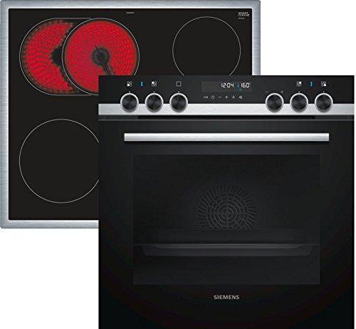Siemens PQ521KA00 iQ500 Herd-Kochfeld-Kombination / 59,4 cm / 4 high Speed-Kochzonen / Aufheizkontrolle / coolGlass / activeClean Selbstreinigungs-Automatik / coolStart-kein Vorheizen