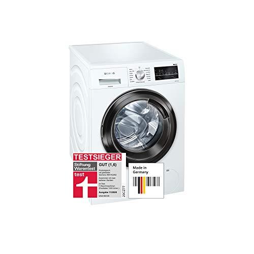 Siemens WM14G400 iQ500 Waschmaschine / 8kg / C / 1400 U/min / Outdoor Programm / varioSpeed Funktion / Nachlegefunktion / aquaStop