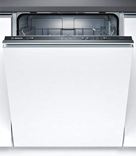 Bosch SMV24AX00E Serie 2 Geschirrspüler Vollintegriert / F / 60 cm / 102 kWh/100 Zyklen / 12 MGD / Silence / InfoLight / VarioBesteckkorb / Beladungs-Sensor