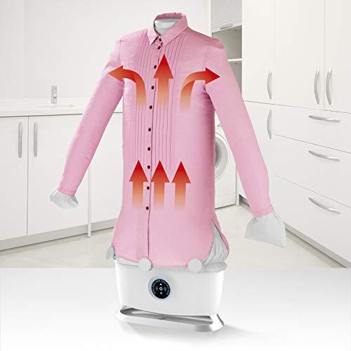 CLEANmaxx Automatischer Hemdenbügler inkl. Dampffunktion   Automatische Bügelstation auch zum Auffrischen Ihrer Kleidung