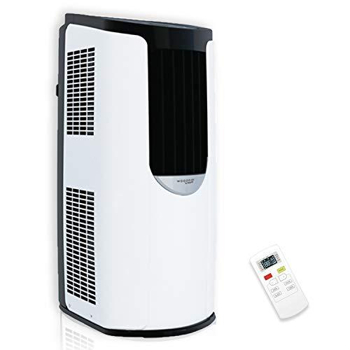 Iris Ohyama, Mobile Klimaanlage, 3 Lüftungsmodi, Schlaf- und Selbstreinigungsfunktion, Timer und Fernbedienung 8 870 BTU / h (2,6 kW) - Portable Air Conditionner IHP-0901G-E - Weiß