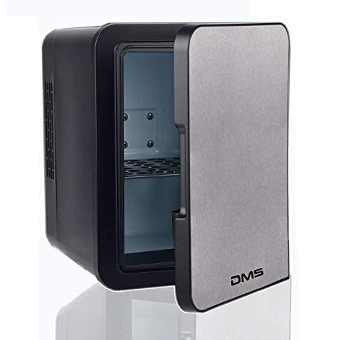 DMS® Mini Kühlschrank Minibar Kühlbox Thermobox Kühltruhe 12/230V Edelstahl 4 L KB-4