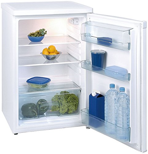 Exquisit KS 16-4 RVA++ Vollraum-Kühlschrank Glasablagen, 130L