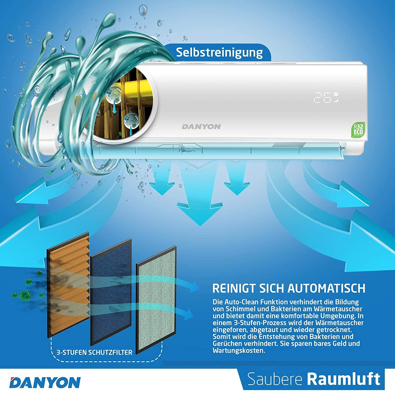 Danyon Klimaanlage Selbstreinigung
