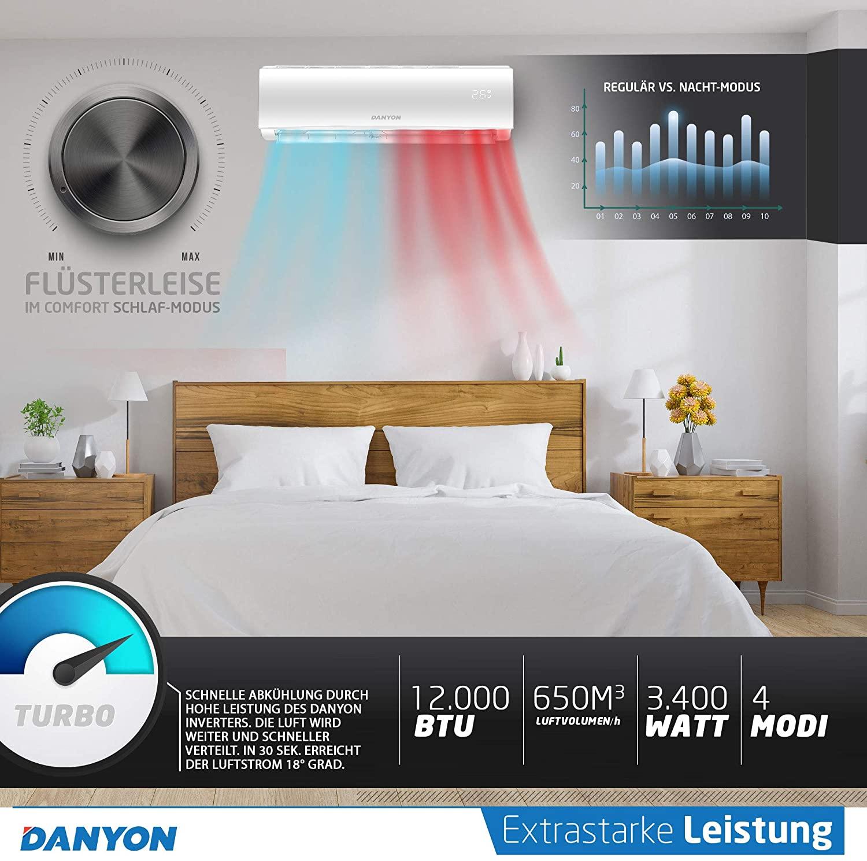 Danyon Klimaanlage sehr leise